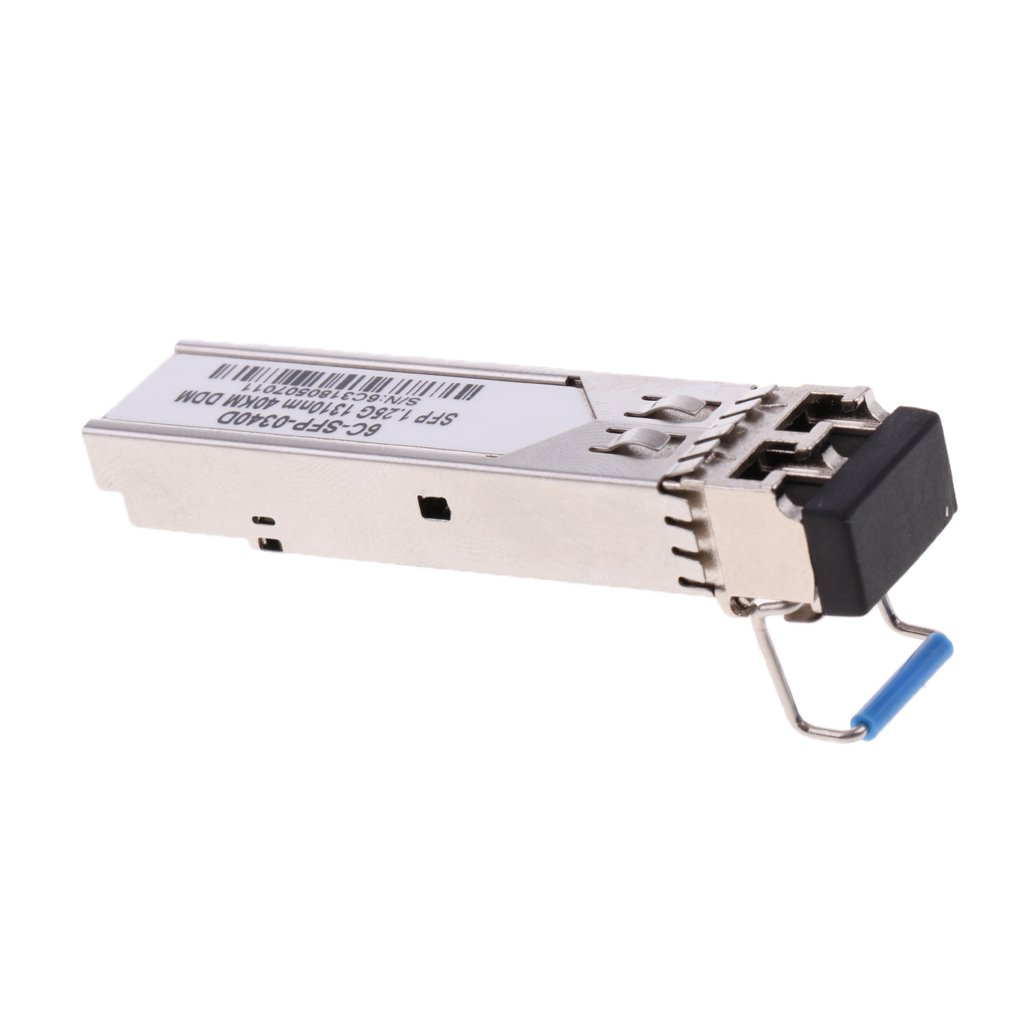 Baosity 1.25G 6C-SFP-0340D 1340nm 40 KM Optical Transceiver Module for Juniper