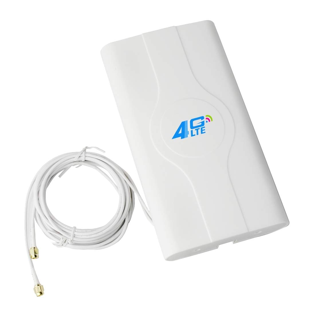 JINYANG Antenna LF-ANT4G01 Indoor 88dBi 4G LTE MIMO Antenna with 2 PCS 2m Connector Wire SMA Port