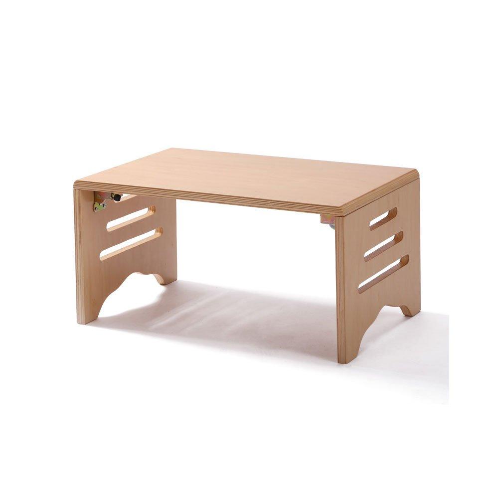 テーブル 折りたたみテーブル 木製テーブル 座卓 継脚フォールディングテーブル ローテーブル ちゃぶ台 幅60/80/100/100cm 机 テーブル 折りたたみ 脚 折れ脚 天然木 折れ脚 センター ローテーブル 木製 テーブル デスク ウォールナット 北欧 B072L5RVDD 120CM|ナチュラル ナチュラル 120CM
