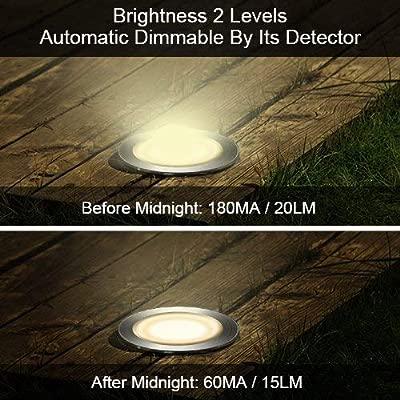 Led proyector solar con estaca para césped 10 Piezas 60 luces,foco ...