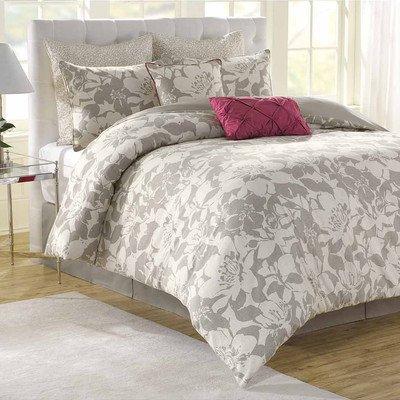 Soho New York Home Peony 8-Piece Comforter Set, Queen (Set Comforter Peony)