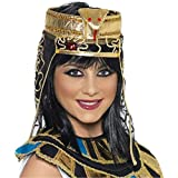 Gold and Black Egyptian Headpiece - One Size
