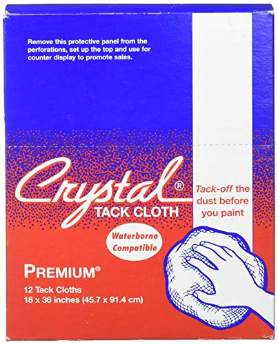 Premium Tack Cloths, Bond Crystal Brand 18