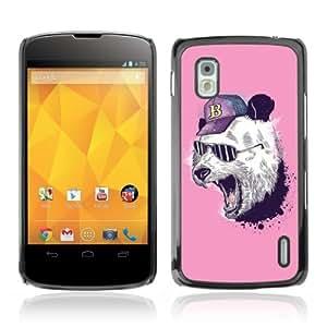 Designer Depo Hard Protection Case for LG Nexus 4 E960 / Cool Panda