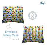 SheetWorld Cotton Baby Pillow Case, Made in USA