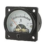 Analog Ammeter - TOOGOO(R) AC 0-3A Round Analog Panel Meter Current Measuring Ammeter Gauge Black