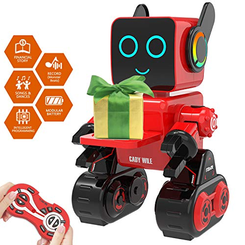 Aukfa Robot Toy for Kids, Smart ...