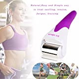 ice cooling system - Face Roller Massager LuckyFine Derma Rolling System Skin Cooling Ice Roller For Face Body Massage Skin Rejuveantion Ice Roller Purple
