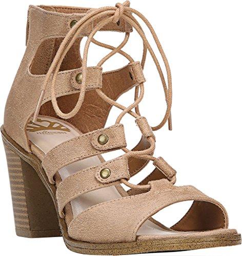 Fergalicious Mambo Mujer US 6.5 Beis Sandalia