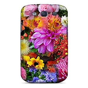Excellent Design Autumn Garden Phone Case For Galaxy S3 Premium Tpu Case
