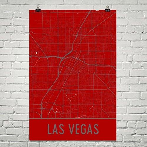 Las Vegas Poster, Las Vegas Art Print, Las Vegas Wall Art, L