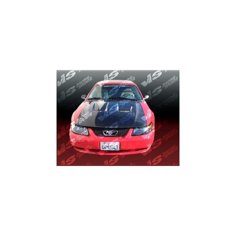 VIS 99 04 Ford Mustang Carbon Fiber Hood HEAT EXTRACTOR