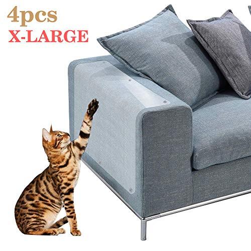 (Qivange Cat Scratch Protector Furniture Protectors from Cats Cat Scratch Deterrent Furniture Scratch Guards 18