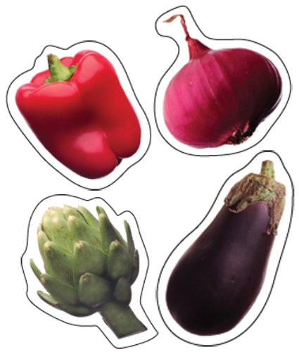 Carson Dellosa Vegetables Shape Stickers (168009)