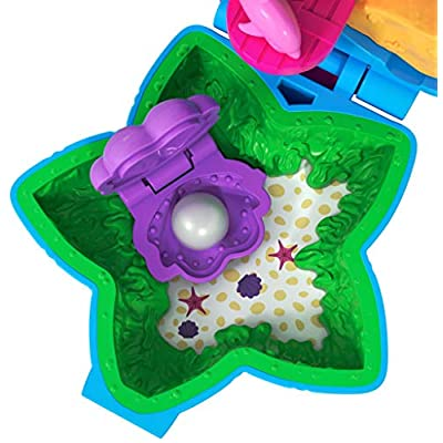 Polly Pocket FRY33 Tiny World, Polly & Dolphin Toy, Multicolor: Toys & Games