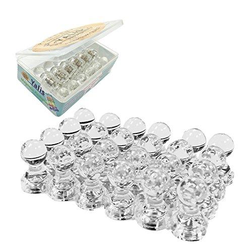 Yalis 24pcs Acrylic Magnetic Pushpins product image