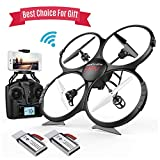 Best Drones With Fpvs - Drones with Camera-DBPOWER FPV 720P HD WiFi Camera Review