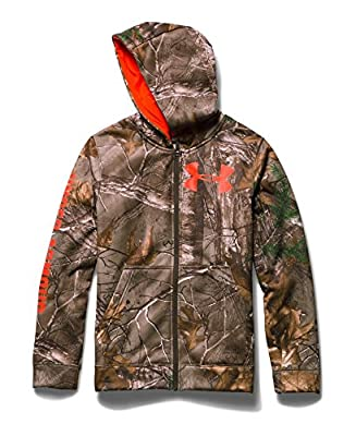 Under Armour Big Boys' UA Caliber Camo Hoodie