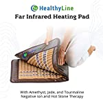 HealthyLine Soft Full-Body Heating Pad with Far Infrared Heat Therapy for Muscle and Joint Pain Management (60inx24in)