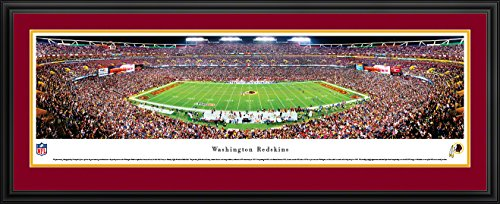 (Washington Redskins -50 Yard Line at Fedex Field - Panoramic Print)