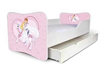 Nobiko Babybett Kinderbett Bett Schlafzimmer Kindermöbel Spielbett ...