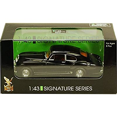 1954 Bentley R-Type Continental w/ Coachwork by Franay, Black - Yatming 43212 - 1/43 Scale Diecast Model Toy Car: Toys & Games
