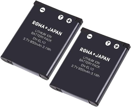 2x Baterías NP-80 NP-82 900mAh para Casio Exilim EX-ZS150 EX-ZS160