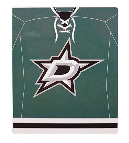 Northwest 670 NHL Dallas Stars Jersey Plush Raschel Throw, 50