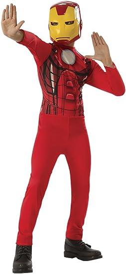 Avengers - Disfraz de Iron Man para niño, infantil 3-4 años ...