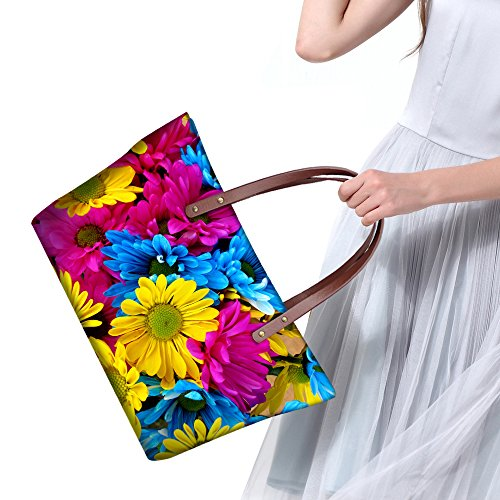Fashion Floral Waterproof Tote DESIGNS Casual FOR Women Print Floral 2 Vintage Rose Bags Handbag U qEOxOw4p