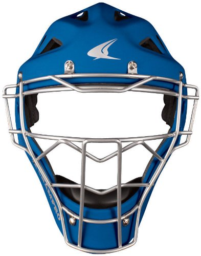 Champro Pro Plus Hockey Style Helmet (Royal, 7-7-1/2) (Professional Hockey Style Catchers Helmet)