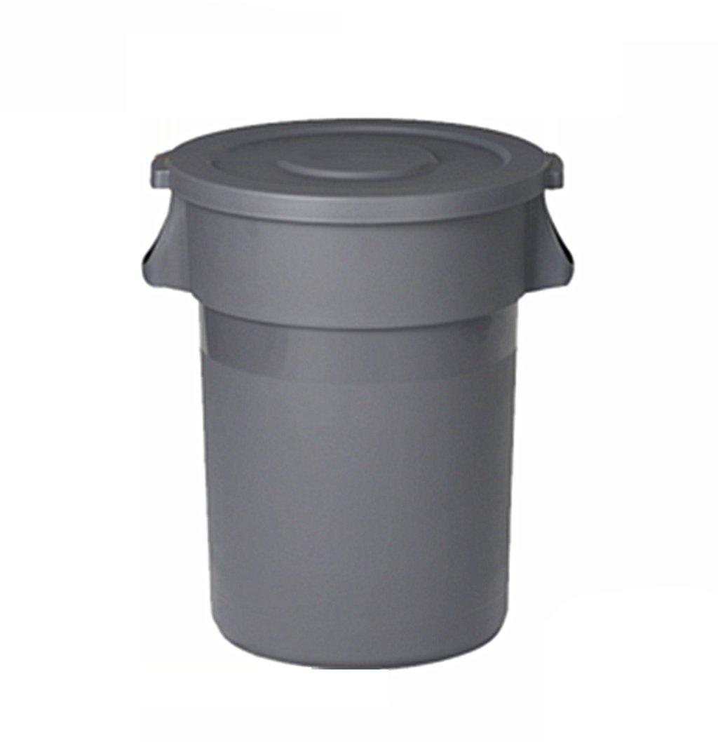 TGG きれいなごみ箱、カバー付き屋外用品の大型デブリスクラップ環境保護80-168L 清潔できちんと (サイズ さいず : 168L) B07DKB3XN7 12499 168L  168L