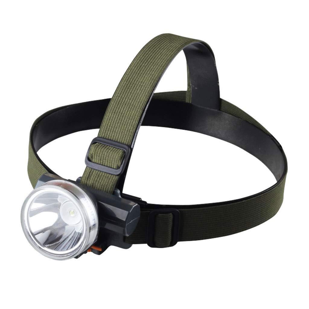 ZAIHW Linterna de Faros de LED, Faros Delanteros Impermeables y cómodos, Linterna de Faros para Correr, Acampar, Leer, Pescar, Caminar, Correr, Luz de Cabeza Durable