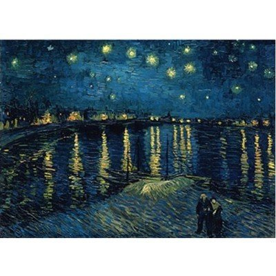 Ravensburger Puzzle VAN GOGH's STARRY NIGHT OVER THE RHONE 1000 Piece