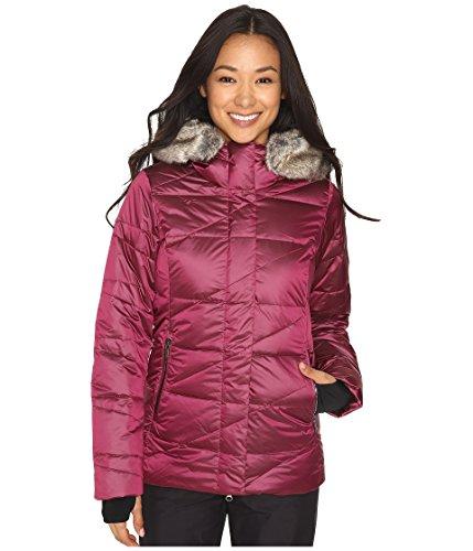 Obermeyer Bombshell Parka Womens Insulated Ski Jacket - 16/Bordeaux