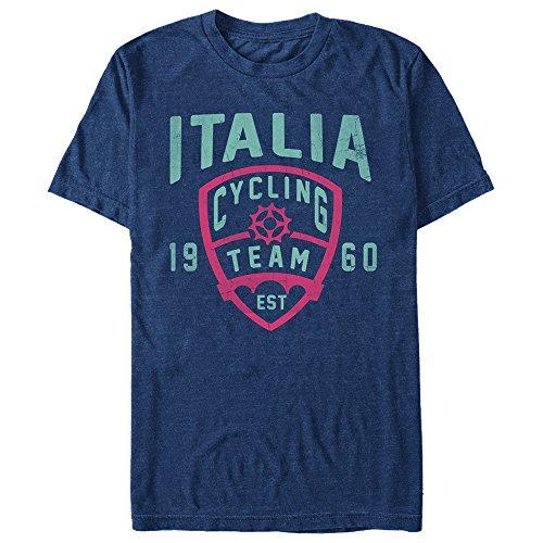 Lost Gods Men's Italia Cycling Team Est 1960 Navy Blue Heather T-Shirt