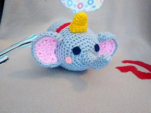 Amigurumi Crochet Elephant AMIGURUMI (20 centimeters) WOVEN ... | 375x500