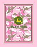 Arts & Crafts : John Deere No Sew Fleece Throw Kit, Pink Camouflage