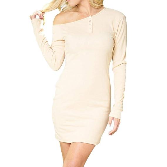 POLP vestidos cortos Otoño ◉ω◉ Vestido Estampado mujer verano, Mujer Vestido de Punto, Mujer Vestido de Tejido, Vestidos tallas grandes mujer verano, ...