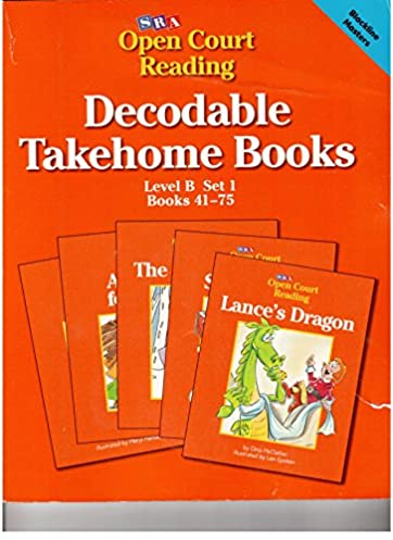 decodable takehome books open court reading level b set 1 books rh amazon com SRA Spelling McGraw-Hill My Math Kindergarten