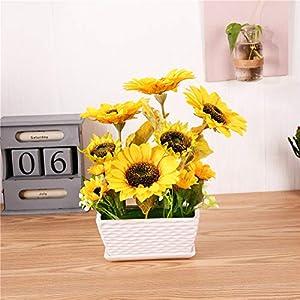 YSZL Artificial Sunflower with Pot 3