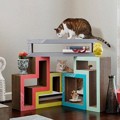KATRIS Modular Cat Tree – 5 Blocks with Different Styles