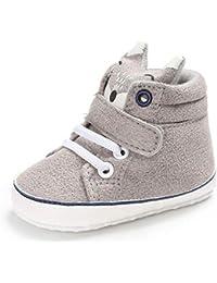 Cotton Baby Girl Boys Fox Hight Cut Shoes Anti-Slip Infant Soft Sole Sneaker