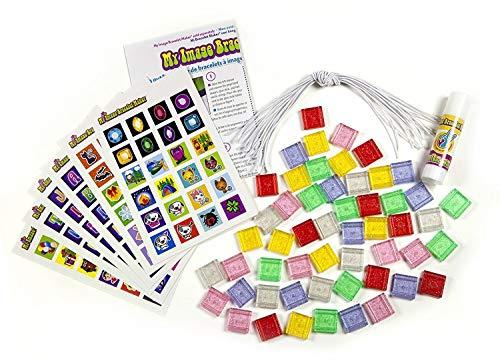 Choose Friendship, My Image Bracelet Maker Refill Kit, Jewelry Maker Kit for Kids, 200 items (The Best Images Of Friendship)