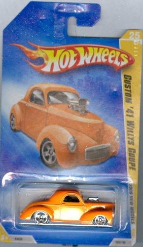 Hot Wheels 2009-025 New Models Custom '41 Willys Coupe ORANGE 1:64 -