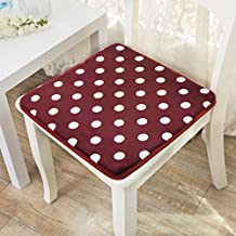 Modern fashion home seat covers/ dining chair pad/ suede mat-E 45x45cm(18x18inch)