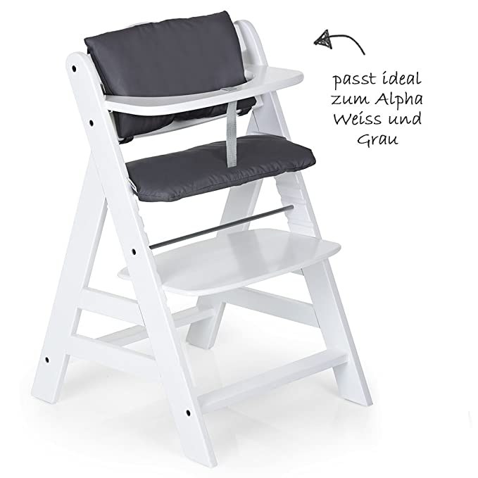 Beige 2pcs Deluxe High Chair Insert Cushion for Hauck Alpha//Beta // Gamma Highchair Seat Cover High Chair Pad Highchair Seat Liner Hauck