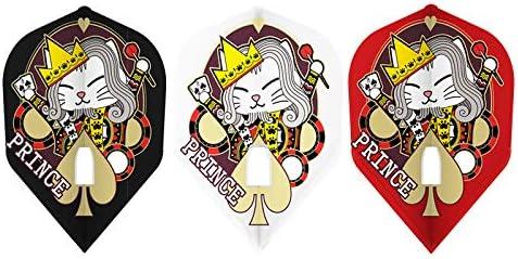 ダーツ フライト L-style 【エルスタイル】 プリンス・シェーク ver.1 PRO MIX シェイプ (Prince Shek ver.1 PRO MIX L3c) | シャンパンリング対応フライト
