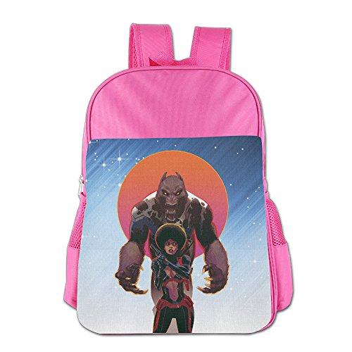 [FUOALF Iron Fist Misty Knight Kids Children Boys Girls Shoulder Bag School Backpack Bags] (Dead School Girl Costume)