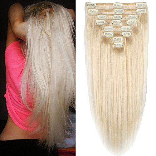 Delivery Platinum Blonde Human Extensions